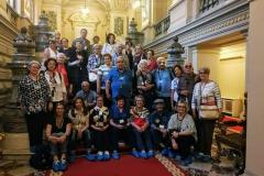 Il gruppo Unitre a Palazzo Cotroceni a Bucarest