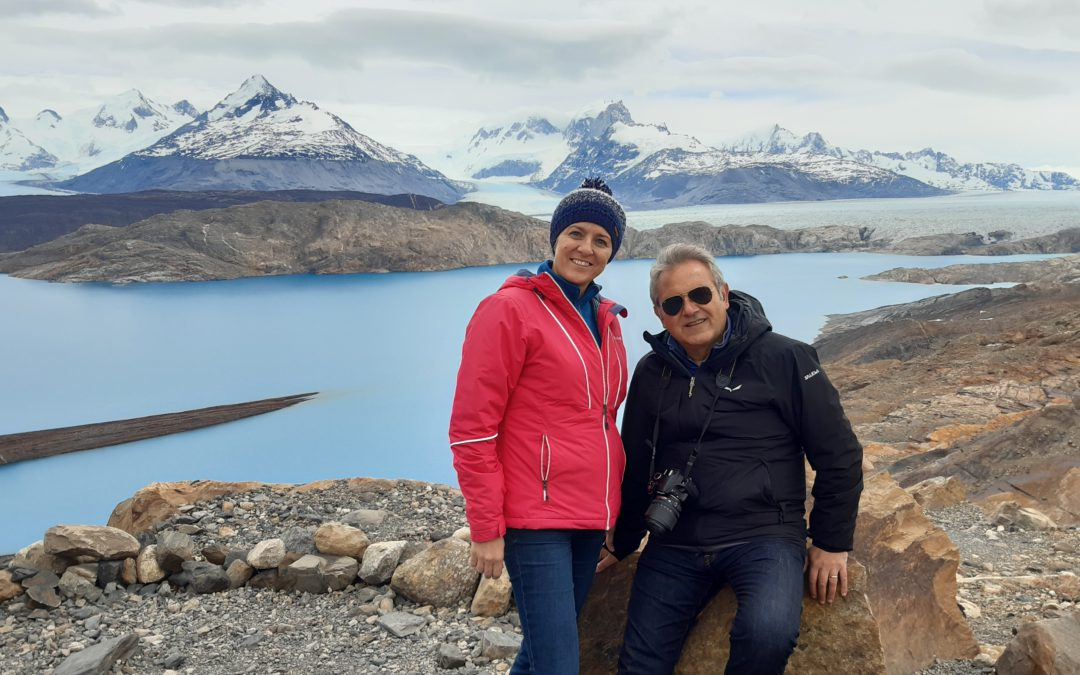 Lago Argentino e Glaciar Upsala